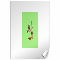 Pin Up Girl 4 20  x 30  Unframed Canvas Print