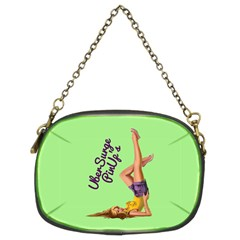 Pin Up Girl 4 Twin-sided Evening Purse