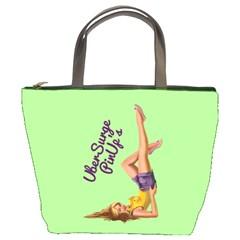 Pin Up Girl 4 Bucket Handbag