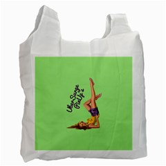 Pin Up Girl 4 Twin-sided Reusable Shopping Bag