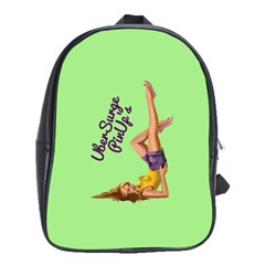 Pin Up Girl 4 Large School Backpack