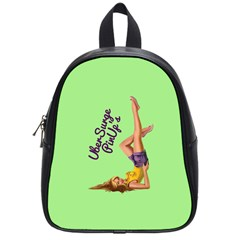 Pin Up Girl 4 Small School Backpack