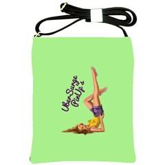 Pin Up Girl 4 Cross Shoulder Sling Bag