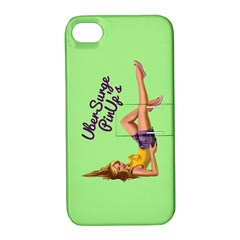 Pin Up Girl 4 Apple iPhone 4/4S Hardshell Case with Stand