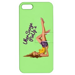 Pin Up Girl 4 Apple Iphone 5 Hardshell Case With Stand