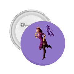 Pin Up 3 Regular Button (Round)
