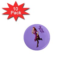 Pin Up 3 10 Pack Mini Magnet (Round)