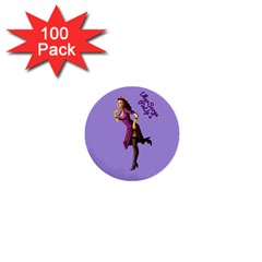 Pin Up 3 100 Pack Mini Button (Round)