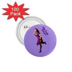 Pin Up 3 100 Pack Small Button (Round)