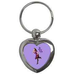 Pin Up 3 Key Chain (Heart)