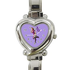 Pin Up 3 Classic Elegant Ladies Watch (heart)