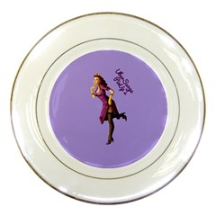 Pin Up 3 Porcelain Display Plate