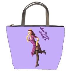 Pin Up 3 Bucket Handbag