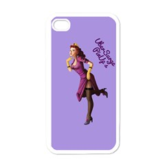 Pin Up 3 White Apple iPhone 4 Case
