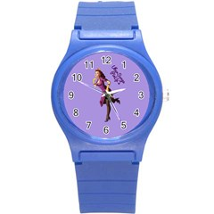 Pin Up 3 Round Plastic Sport Watch Small