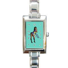 Pin Up 2 Classic Elegant Ladies Watch (rectangle)