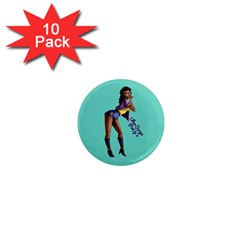 Pin Up 2 10 Pack Mini Magnet (round)