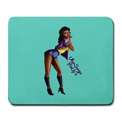 Pin Up 2 Large Mouse Pad (Rectangle)