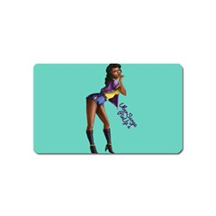 Pin Up 2 Name Card Sticker Magnet