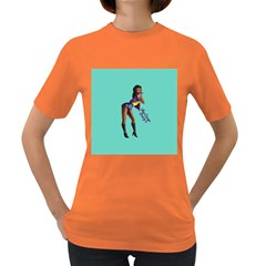 Pin Up 2 Dark Colored Womens'' T-shirt