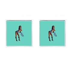 Pin Up 2 Square Cuff Links
