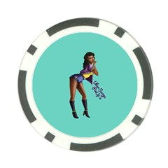 Pin Up 2 Poker Chip