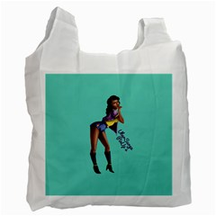 Pin Up 2 Twin-sided Reusable Shopping Bag