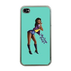 Pin Up 2 Apple Iphone 4 Case (clear)