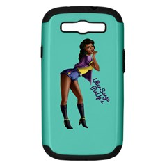 Pin Up 2 Samsung Galaxy S III Hardshell Case (PC+Silicone)