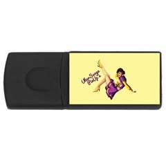 Pin Up Girl 1 USB Flash Drive Rectangular (2 GB)