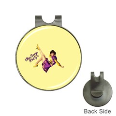 Pin Up Girl 1 Golf Ball Marker Hat Clip