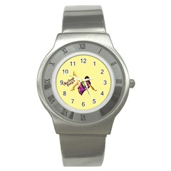 Pin Up Girl 1 Stainless Steel Watch