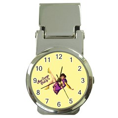 Pin Up Girl 1 Money Clip Watch