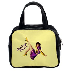 Pin Up Girl 1 Classic Handbag (Two Sides)