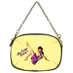 Pin Up Girl 1 Chain Purse (One Side)