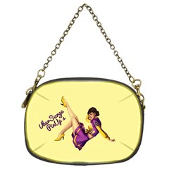 Pin Up Girl 1 Chain Purse (Two Sides)