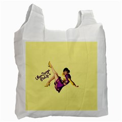 Pin Up Girl 1 Recycle Bag (one Side)