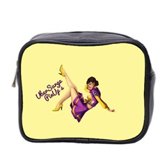 Pin Up Girl 1 Mini Toiletries Bag (two Sides)