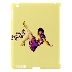 Pin Up Girl 1 Apple iPad 3/4 Hardshell Case (Compatible with Smart Cover)