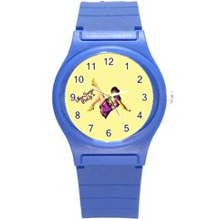 Pin Up Girl 1 Round Plastic Sport Watch Small