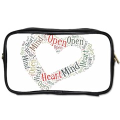 OpenHeart.OpenMind. Twin-sided Personal Care Bag