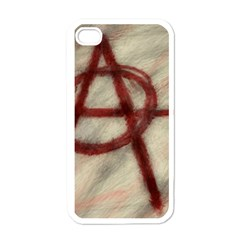 Anarchy White Apple Iphone 4 Case