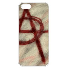 Anarchy Apple iPhone 5 Seamless Case (White)