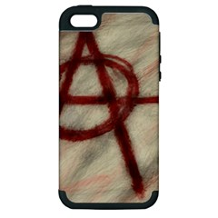 Anarchy Apple iPhone 5 Hardshell Case (PC+Silicone)
