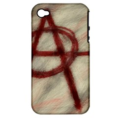 Anarchy Apple Iphone 4/4s Hardshell Case (pc+silicone)