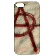 Anarchy Apple iPhone 5 Hardshell Case with Stand