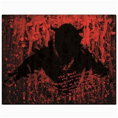 Tormented Devil 11  x 14  Unframed Canvas Print