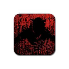 Tormented Devil Rubber Drinks Coaster (Square)