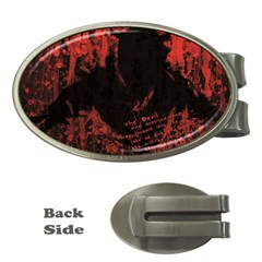 Tormented Devil Money Clip (oval)