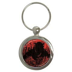 Tormented Devil Key Chain (Round)